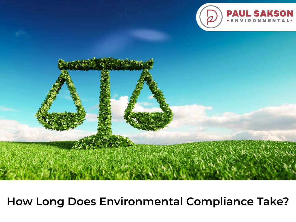 how long does environmental compliance take