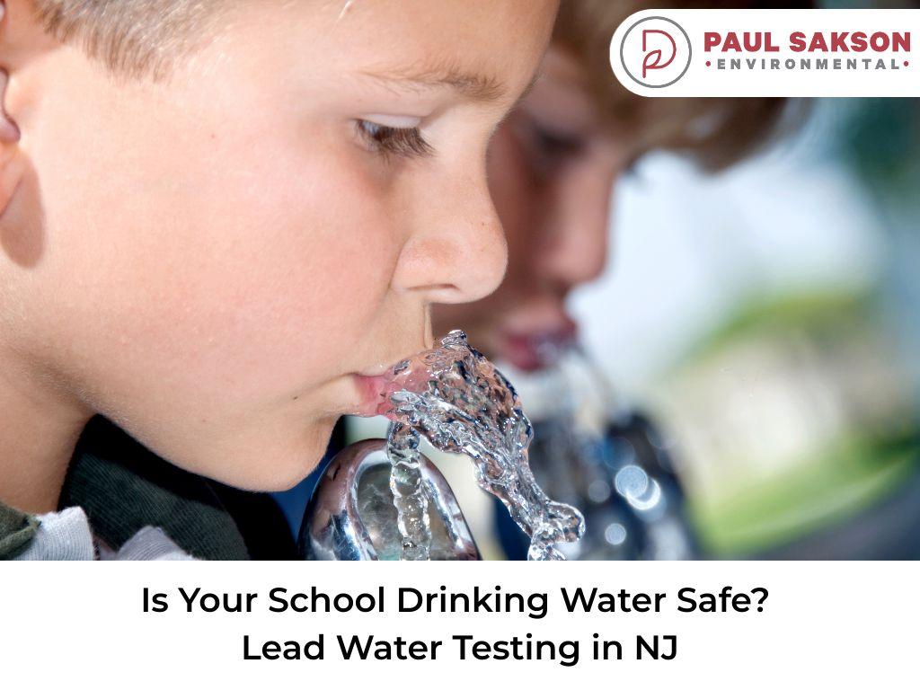 school drinking water lead testing nj